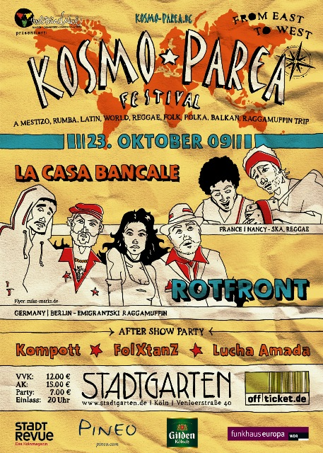 Kosmo-Parea 2 Flyer